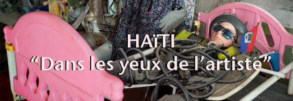 Haïti «Dans les yeux de l'artiste»